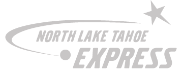 logo for north lake tahoe express
